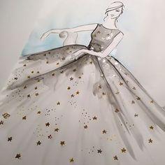 Inspired by Valentino PF 2015 | Ele Marti Illustration
