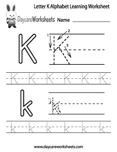letter k worksheets free letter a alphabet learning worksheet for preschool 4045