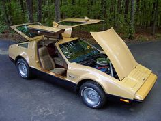 1975 Bricklin SV1 Suntan barn find Click to Find out more - http://fastmusclecar.com/muscle-cars/1975-bricklin-sv1-suntan-barn-find/ COMMENT.