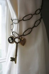 curtain tie back ideas - Google Search
