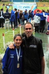Irina Rodríguez campeona en 100 metros llanos | Chacabuco y su gente