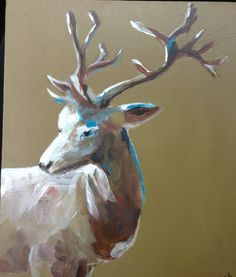 Olivia Denahy Moose Art, My Arts, Animals, Animales, Animaux, Animal, Animais