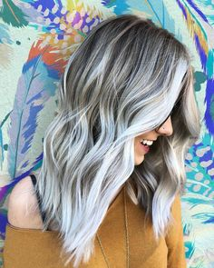 """1,631 Likes, 18 Comments - INSPIRATION ➕ EDUCATION (@balayageartists) on Instagram: """"Glacier Blonde ❄ What's your favourite icy toner?? Comment below ✨ Awesome color inspiration by…"""""""