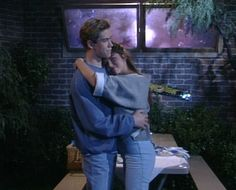 Unforgettable TV Prom Moment - Saved By The Bell Zach and Kelly