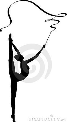 Rhythmic Gymnastics Ribbon Stock Illustrations – 152 Rhythmic Gymnastics Ribbon Stock Illustrations, Vectors & Clipart - Dreamstime Gymnastics Party, Rhythmic Gymnastics, Ribbon Gymnastics, Gymnastics Logo, Ballerina Sketch, Ballerina Art, Dancing Drawings, My Drawings, Easy Art For Kids