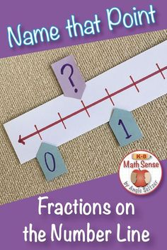 Number Line models help kids understand fractions as lengths or locations. This versatile card also set comes with access to an online Boom deck. Teaching Fractions, Math Fractions, Teaching Math, Math Math, Creative Teaching, Math Fraction Games, Math Games, Math Activities, Math Resources