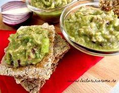 Aperitiv cu avocado si ton - Lecturi si Arome Avocado Toast, Guacamole, Food To Make, Appetizers, Cooking Recipes, Mexican, Keto, Vegetarian, Pasta