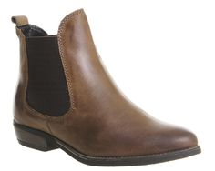 Buy Brown Leather Office Dallas 2 Chelsea Boots from OFFICE.co.uk.