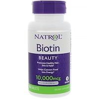 Biotin, also known as vitamin H, is a B vitamin that plays a key-role in the body. Biotin supports the health of the skin, hair and nails as well as of the nerves and digestive tract. FAQ How does Biotin work in the body? Best Hair Vitamins, Vitamins For Hair Growth, Vitamins For Women, Natural Vitamins, Natural Health, Ongles Forts, Cellular Energy, Brittle Nails, Backen
