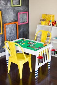 Find out how to turn a changing table into a DIY Lego Table in this IKEA Hack tutorial, part of a fun blogger challenge with Parents Magazine!