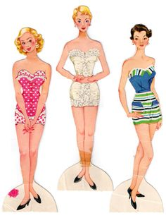 1960s   Paper doll fun with Laurie!!!!