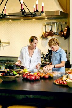 Mrs. Beall wants to keep the family rituals and rhythms the same, especially when it comes to meals. (Photo: Shawn Poynter for The New York Times)
