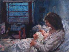 Dawn - Bernard Dunstan (British, b.1920)