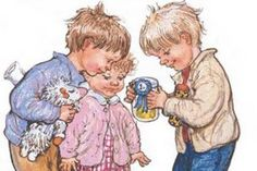 Children's Authors & Illustrators Week - Feb 2-8.  My kids and I always loved Shirley Hughes' Alfie books.  The illustrations are so lovingly done.