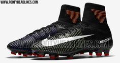 Black Nike Mercurial Superfly 5 2016-2017 Boots Leaked - Footy Headlines