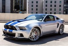 2014 Ford Mustang GT from Need For Speed.Driven By:Aaron Paul (Tobey Marshall)
