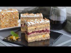 Vă dezvăluiesc detaliile care fac acest tort de la Moscova atât de special, pe baza originalului. - YouTube Torte Cake, Vanilla Cake, Dessert Recipes, Cooking Recipes, The Originals, Cakes, Savoury Cake, Watermelon, Pie Wedding Cake