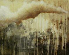 Sateen jälkeen/After the rain 40x50cm akryyli/acrylic Kukka Heiskanen 2013