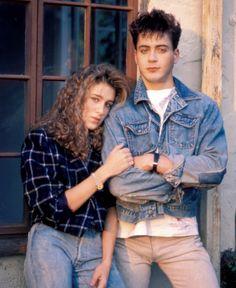Sarah Jessica Parker & Robert Downey Jr.,1984