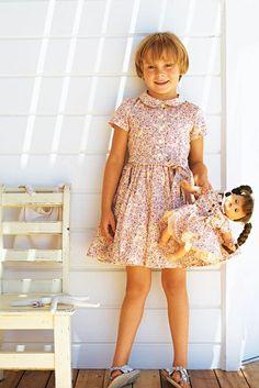 BurdaStyle Girl's Dress with Full Skirt 6/2010