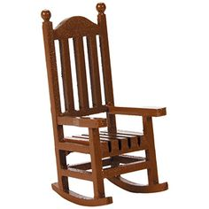 Darice Timeless Miniatures, Wood Rocking Chair -- Find out more about the great product at the image link. (This is an affiliate link) Miniature Furniture, Dollhouse Furniture, Wooden Rocking Chairs, Dollhouse Accessories, Doll Accessories, Ikea Furniture, Furniture Outlet, Arts And Crafts Supplies, Diy Supplies