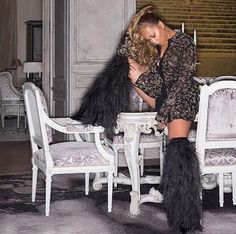 #CelebsLove these furry #SaintLaurent SS18 boots! Joining fashionistas like #Rihanna & #NaomiCampbell #MarjorieHarvey was spied recently flaunting her toned legs in these chic over-the-knee boots. What do you think? #instastyle #style #fashion #instafashion #celebritystyle #fashionbombdaily - Celebrity #Fashion Style Culture Couture Advertising Culture #Beauty Editorial #Photography Magazines Supermodels Runway Models