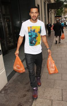 Jesse Williams in London