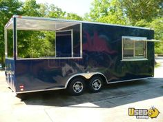 New Listing: http://www.usedvending.com/i/Concession-Trailer-with-BBQ-Smoker-Porch-for-Sale-in-Georgia-New-/GA-P-015O Concession Trailer with BBQ Smoker Porch for Sale in Georgia- New!