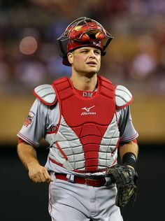 Devin Mesoraco Photos - Cincinnati Reds v New York Yankees - Zimbio