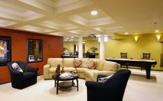 1000 Images About Amazing Basements On Pinterest Basements Finished Basements And Basement