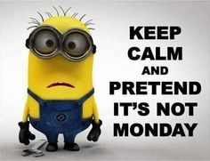 Just love Mondays!........