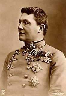 Hermann Freiherr Kövess von Kövessháza was the final, and completely ceremonial, Commander-in-Chief of Austria-Hungary. He served as a generally competent and unremarkable commander in the Austro-Hungarian Army and was close to retirement in 1914 when The First World War broke out and he was given a command post.