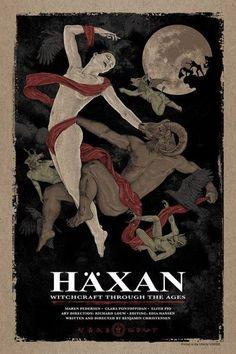 Häxan (1922) Directed by Benjamin Christensen Poster by Timothy Pittides