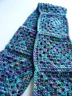 treading dawn scarf