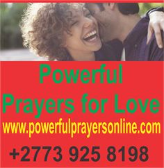 Powerful Prayers For Love