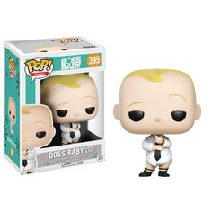This is a Boss Baby POP Baby Diaper And Tie Vinyl Figure that's produced by the neat folks over at Funko. Boss Baby looks great! Super cool. Recommended Age: 5+ Condition: Brand New and Sealed Dimensi