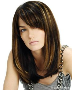Medium hair with fringe  http://www.hairfinder.com/techniques/more_hair_length3.htm