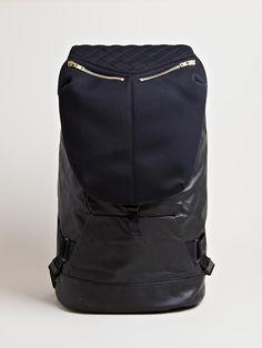 b57741b4f958 Tim Coppens - Black Mens Leather Backpack for Men - Lyst