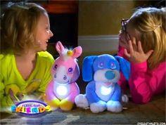 Flashlight Friends Plush Stuffed Animal and Flashlight
