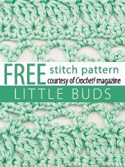 Stitch Patterns: Get 10 downloadable stitch patterns from Crochet! magazine