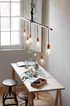 KARWEI | Deze lamp zorgt gelijk voor sfeer bij de tafel. #karwei #verlichting #wooninspiratie