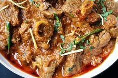 Mughlai Karahi Gosht Slow cooked lamb curry with tomatoes, garlic and garam masala