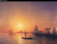 Ivan Aivazovsky Venice