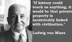 So true! Private property is one of the foundations which God laid for the building of godly civilization.