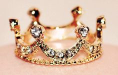 Princess Ring. Adorable.