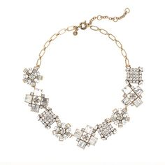J.Crew CRYSTAL CRUSH NECKLACE