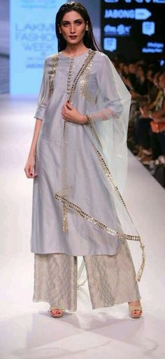 Grey shade ** designer outfit in all colours combination