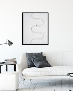 Life goes not in a straight line Straight Lines, All White, Floating Nightstand, Everything, Interior, Table, Life, Furniture, Home Decor