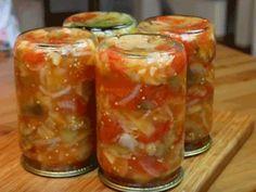 Canning Recipes, Kitchen Recipes, Yummy Food, Tasty, Snacks Für Party, Russian Recipes, Kimchi, Pickles, Vegan Recipes