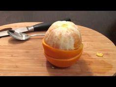 Orangen schälen mit Schältrick - YouTube